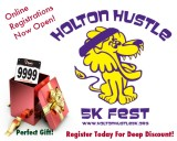 2014 Holton Hustle 5k Online Registrations Now Open!